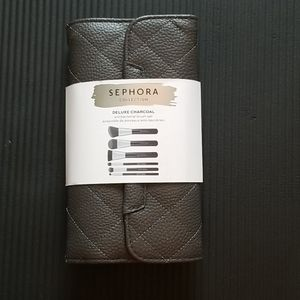 Sephora Delux Charcoal Brush set Price is FIRM